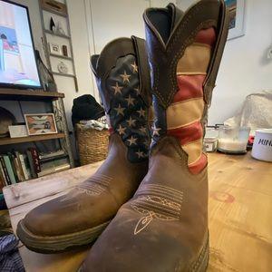 Durango American flag cowboy boots